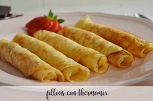 Filloas with Thermomix