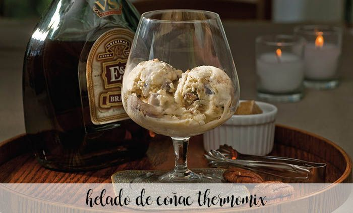 Cognac ice cream with Thermomix