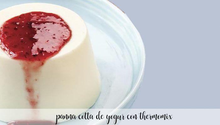 Yogurt panna cotta with Thermomix