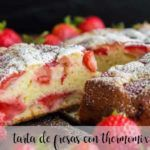 Strawberry cake with Thermomix