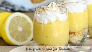 Verrine Lemon Cake With Thermomix