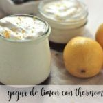 Lemon yogurt with thermomix