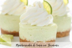 Lemon minicheesecakes with Thermomix