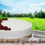 Cheese mousse cake with Thermomix