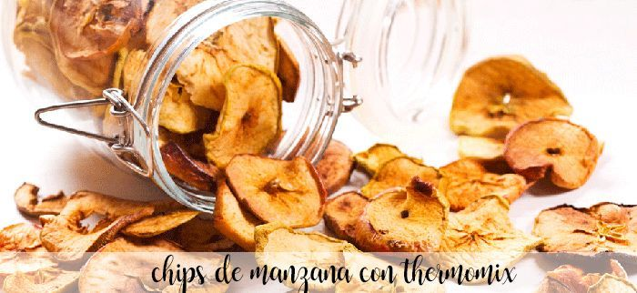 Apple chips with Thermomix