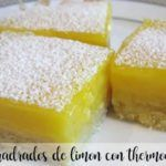 Lemon squares with Thermomix