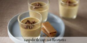 Light coffee curd with thermomix
