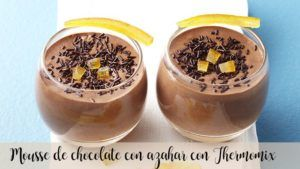 Mascarpone cheese and chocolate mousse with Thermomix