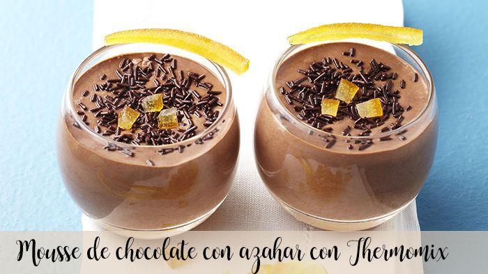 Ser mascarpone i mus czekoladowy z Thermomixem