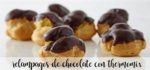 Chocolate lightning with thermomix