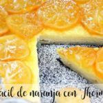 Easy orange cake with Thermomix