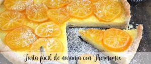 Easy orange cake with Thermomix