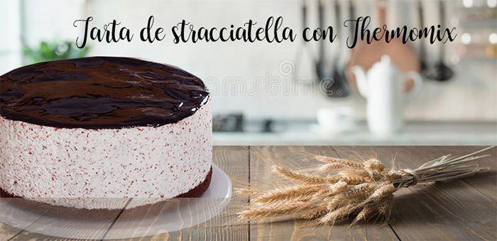 Stracciatella cake with Thermomix