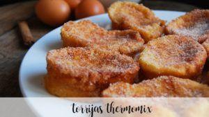 Torrijas recipe in the Thermomix