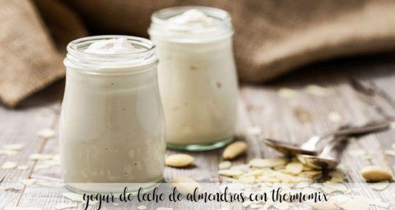 Almond milk yogurt with Thermomix