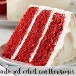 Ciasto Thermomix z czerwonego aksamitu