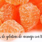 Pomarańczowe cukierki żelowe z thermomixem