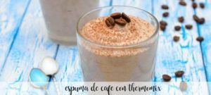 Coffee foam with thermomix