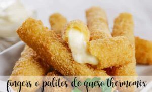 Fingers or cheese sticks with thermomix