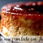 Rice and milk flan with Thermomix