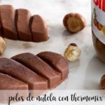 Nutella Popsicle z Thermomixem