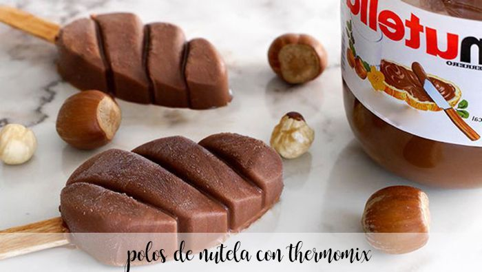 Nutella popsicle with thermomix