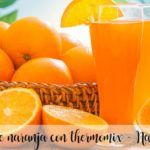 Orange juice with thermomix - Orange