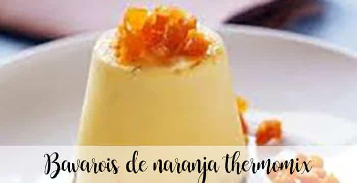Orange Thermomix Bavarois