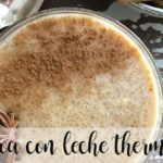 Quinoa with milk with thermomix