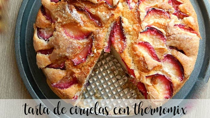 Plum cake with Thermomix