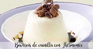 Vanilla bavarois with Thermomix
