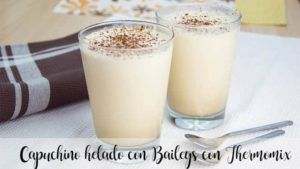 Iced cappuccino with Baileys with Thermomix