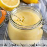 Lemon cream - Lemon Curd with thermomix