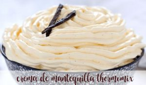 Butter cream with thermomix