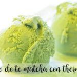 Matcha tea ice cream with Thermomix