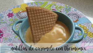 Caramel custard with Thermomix