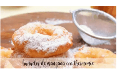 Apple fritters with thermomix