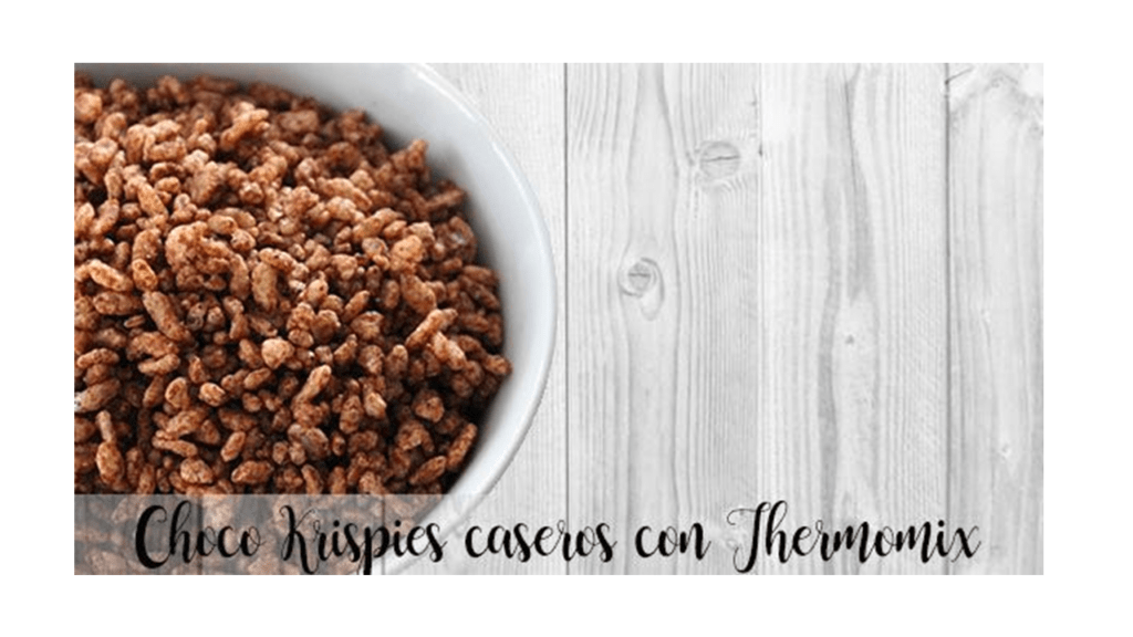 Homemade Choco Krispies with Thermomix
