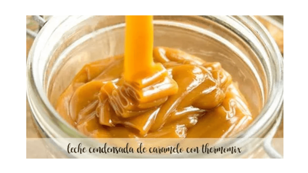 Condensed caramel milk with Thermomix