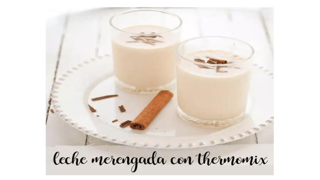 Meringue milk with Thermomix