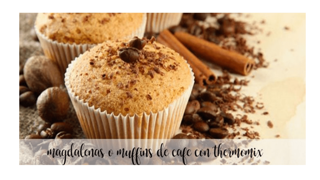 Coffee muffins with thermomix