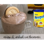 Nesquik mousse with thermomix