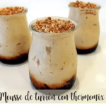 Nougat mousse with thermomix
