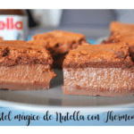 Nutella magic cake with Thermomix