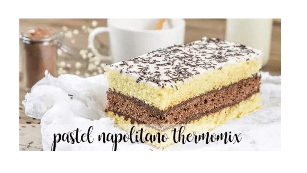 Neapolitan cake with Thermomix