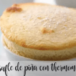 Pineapple soufflé with Thermomix