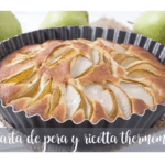Pear and ricotta cake with Thermomix