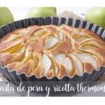 Ciasto gruszkowo-ricottowe z Thermomixem