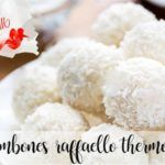 Homemade Raffaello chocolates with Thermomix