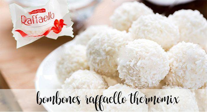 Homemade Raffaello chocolates with Thermomix